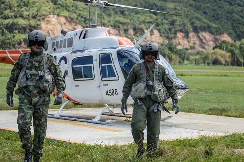 escuadrón de th 67 creek prepara pilotos de las fuerzas armadas de